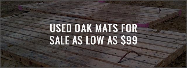 Used Oak Mats for Sale as Low as $99