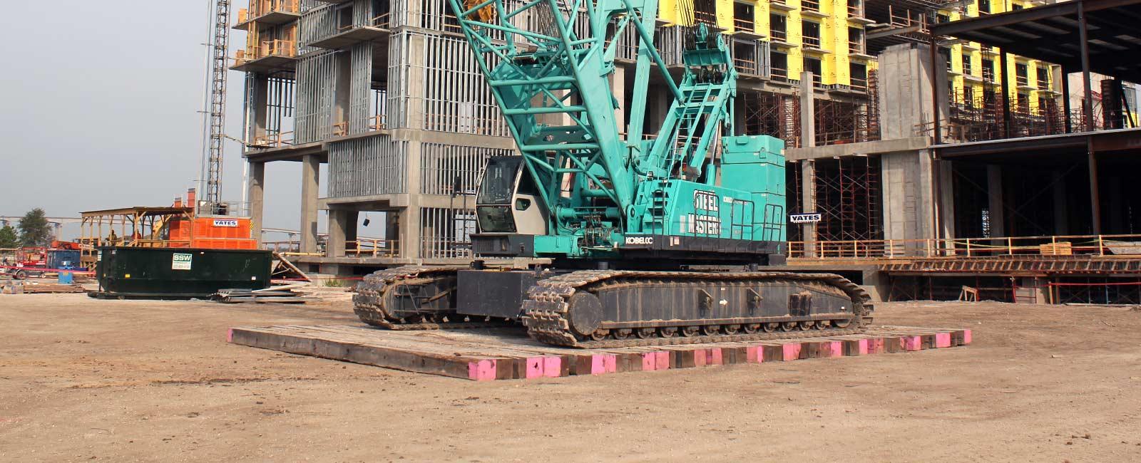 Timber Crane Mats Dragline Mats Quality Mat Company